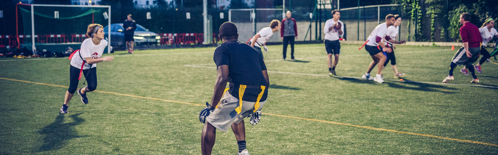American flag football london