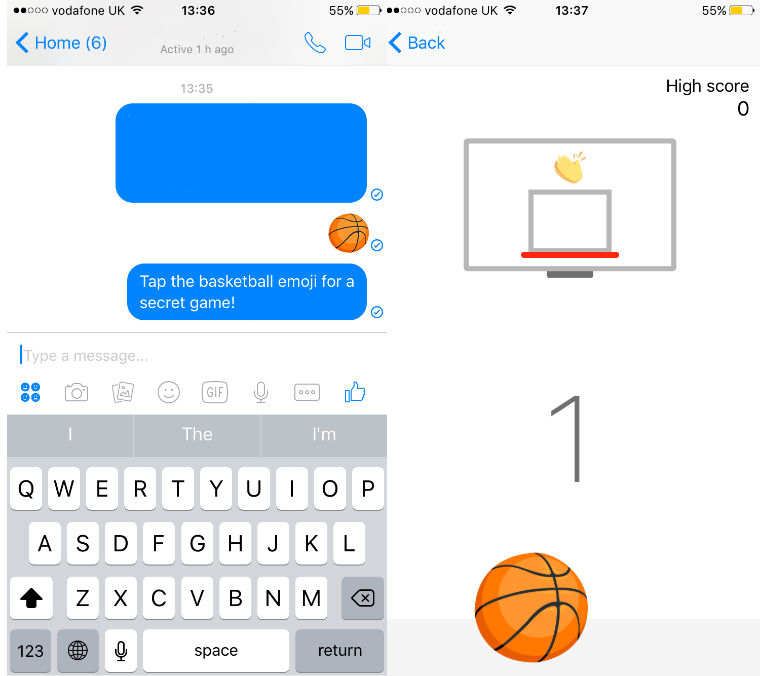 Basketball emoji game