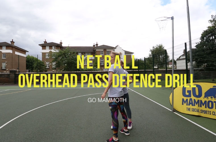 Netball - Defensive Drill