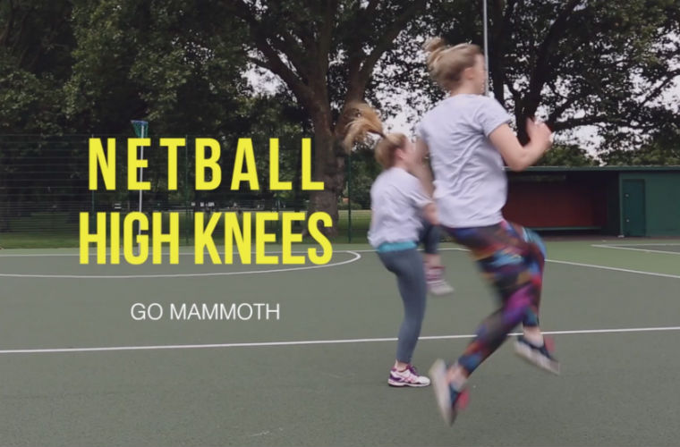 Netball High Knees