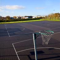 netball in Battersea Park