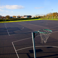 netball in Bristol (Clifton College)
