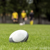 touch-rugby in Battersea Park (Summer)