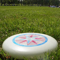 ultimate-frisbee in Wandsworth Common (Spencer Park)